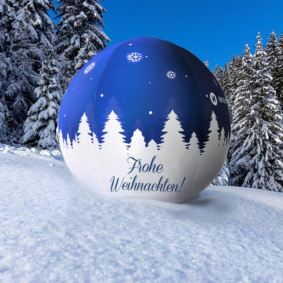 Weihnachtskugel Pascal Winter